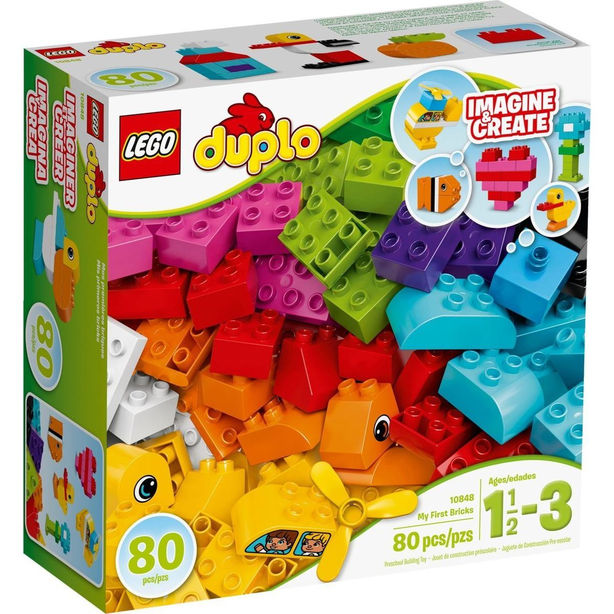 LEGO DUPLO 10848 Moje první kostky