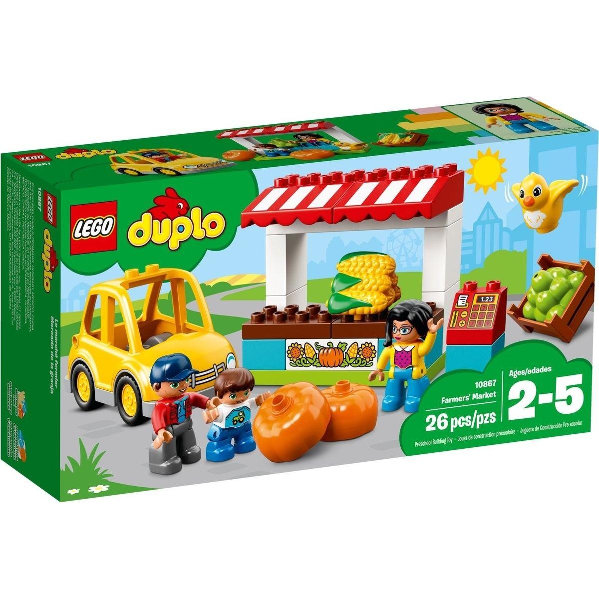 LEGO DUPLO 10867 Farmářský trh - Poškozený obal