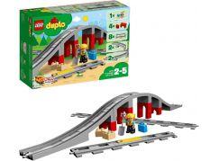 LEGO® DUPLO® 10872 Doplňky k vláčku – most a koleje