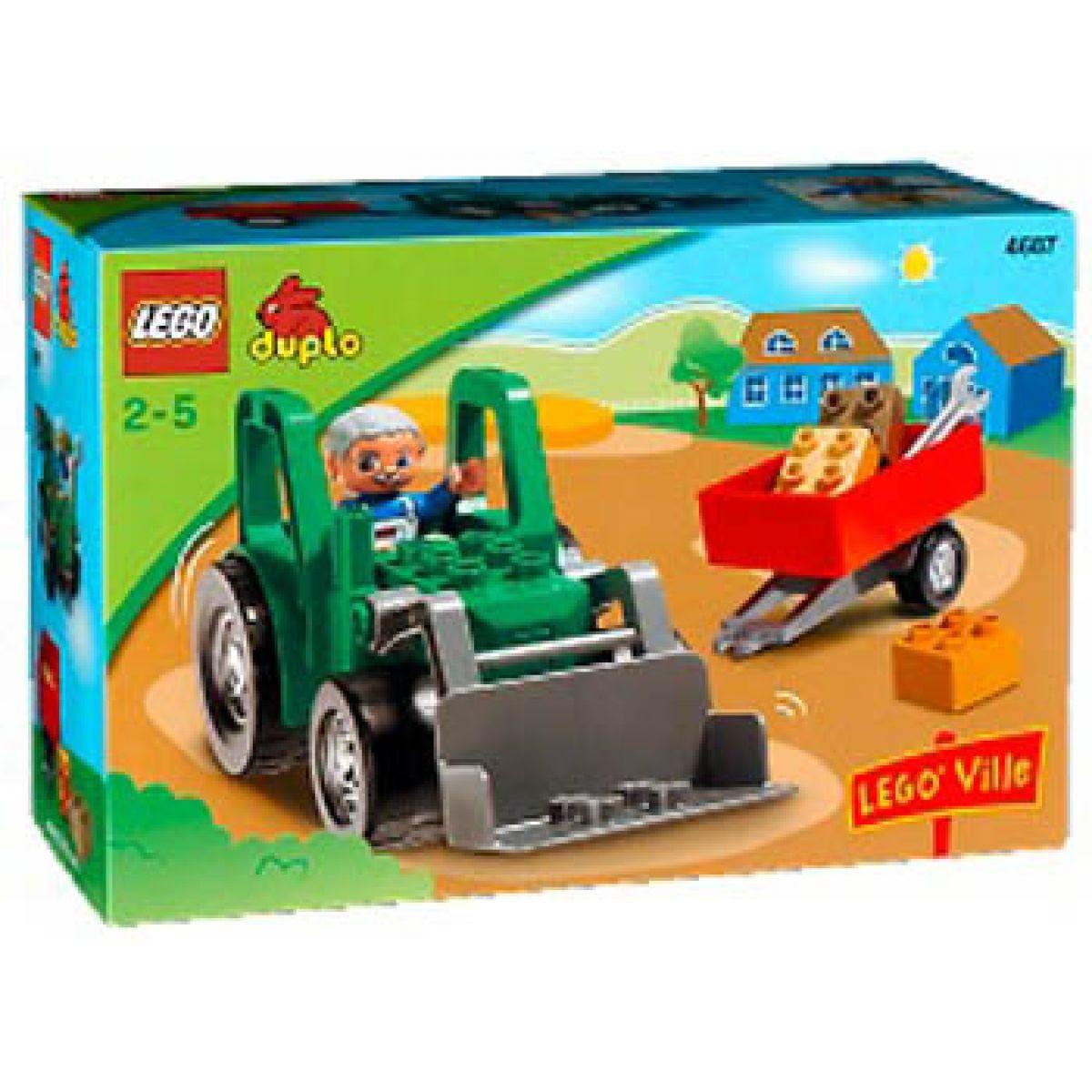 LEGO DUPLO 4687 Traktor s přívěsem