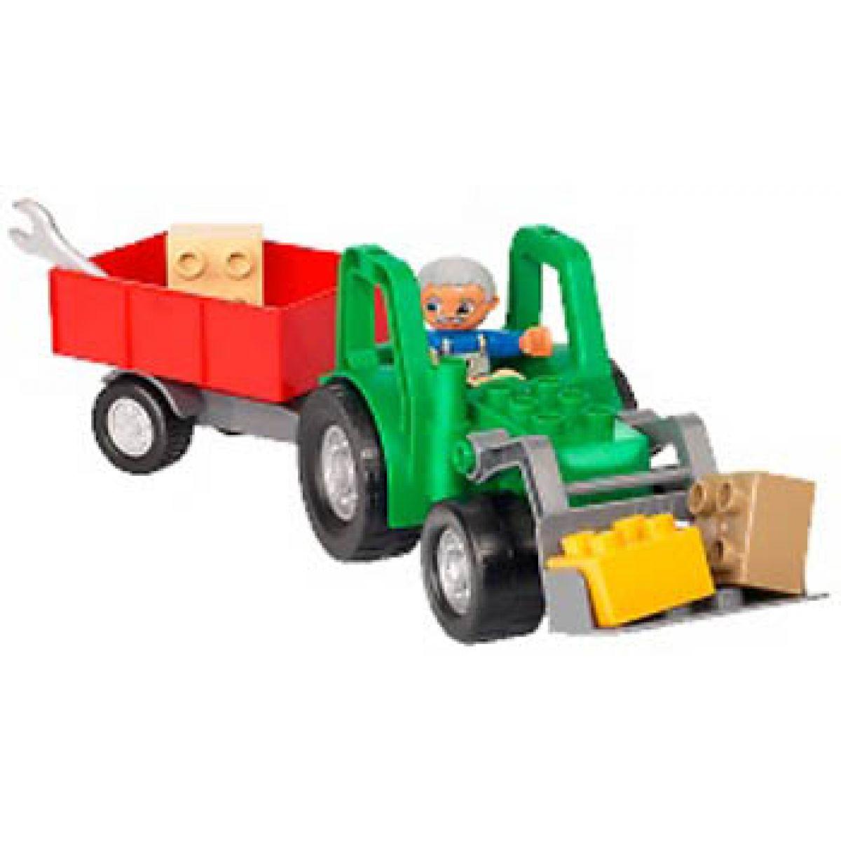 LEGO DUPLO 4687 Traktor s přívěsem #2