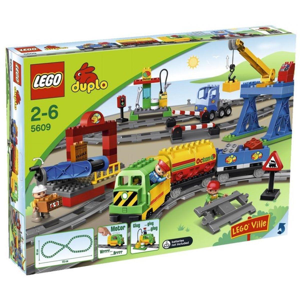 LEGO DUPLO 5609 Vlaková sada Deluxe