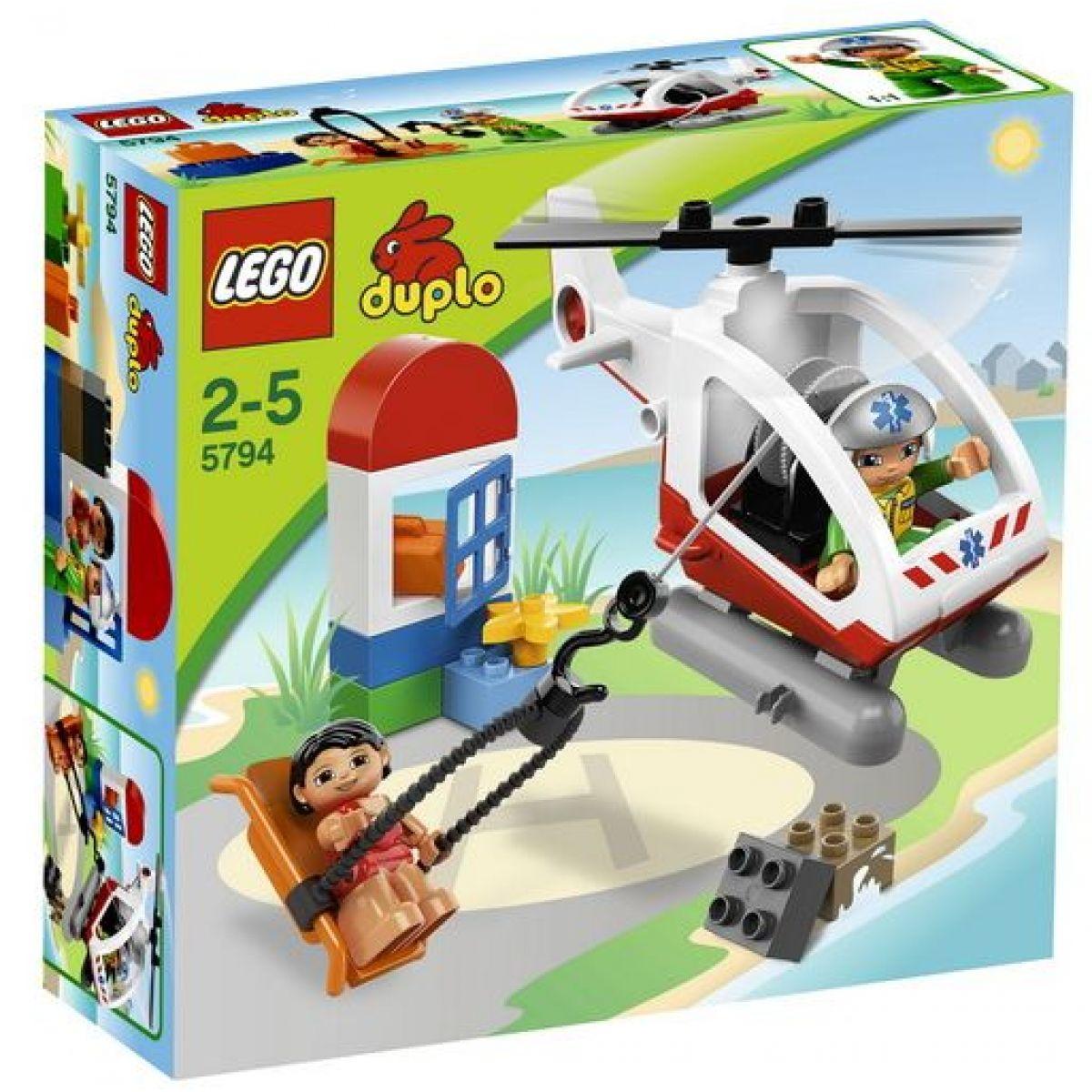 LEGO DUPLO 5794 Záchranný vrtulník