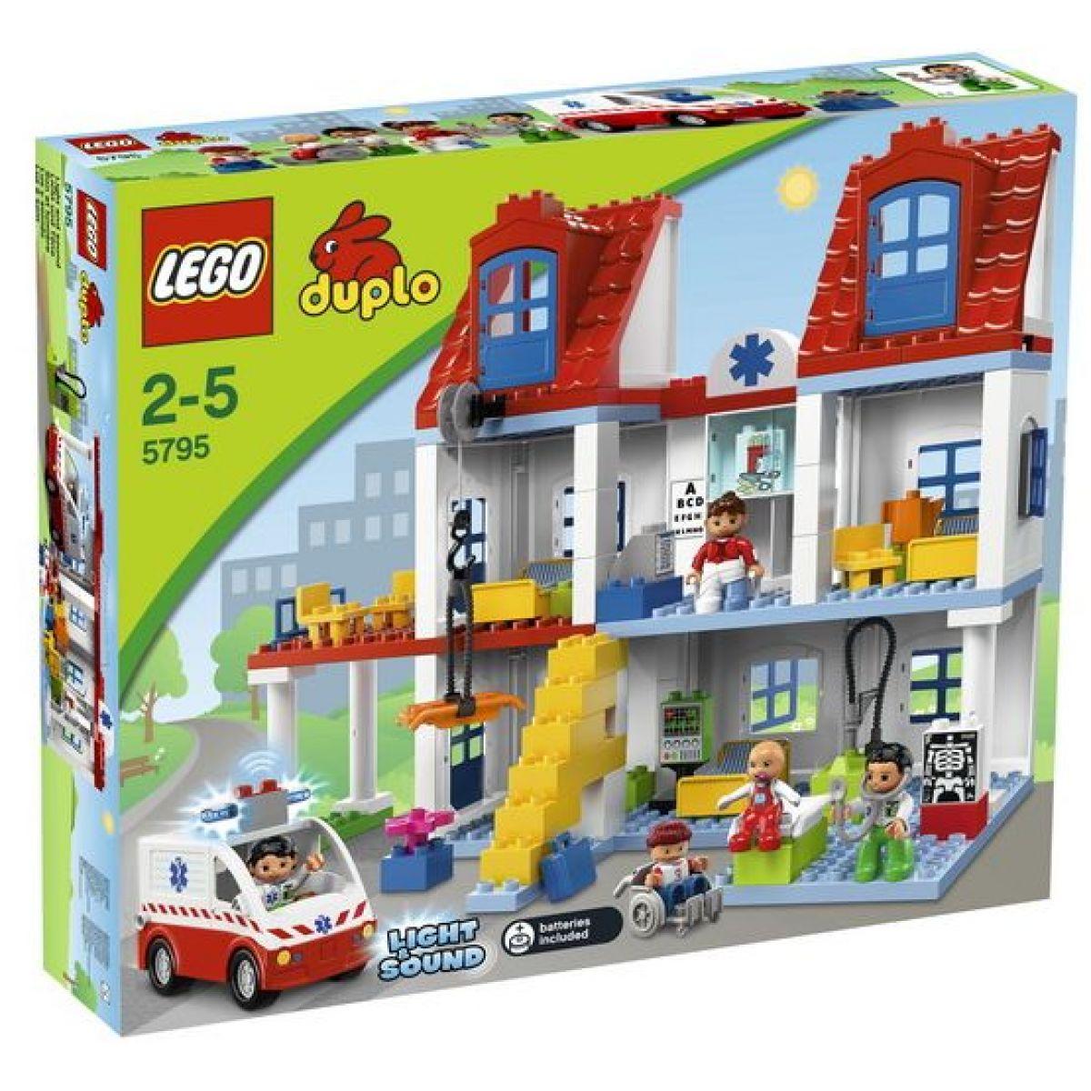 LEGO DUPLO 5795 Velká městská nemocnice