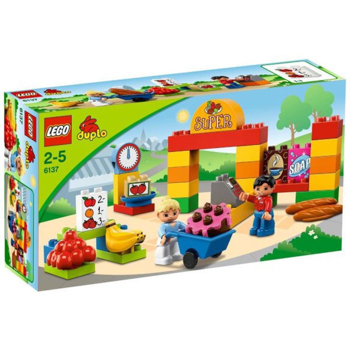 LEGO DUPLO 6137 Můj první supermarket