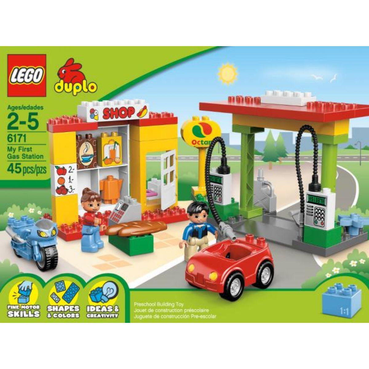 LEGO DUPLO 6171 Čerpací stanice