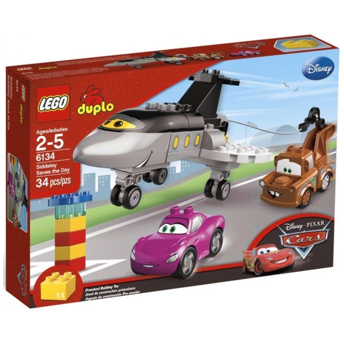 LEGO DUPLO Cars 6134 Tryskáč Siddeley zasahuje