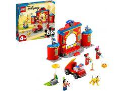 LEGO® Disney ™ Mickey and Friends 10776 Hasičská stanice a auto Mickeyho přátel