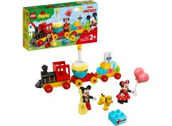 LEGO® DUPLO® Disney ™ 10941 Narozeninový vláček Mickeyho a Minnie