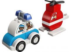 LEGO DUPLO My First 10957 Hasičský vrtulník a policejní auto