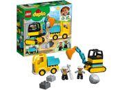 LEGO® DUPLO® Town 10391 Náklaďák a pásový bagr