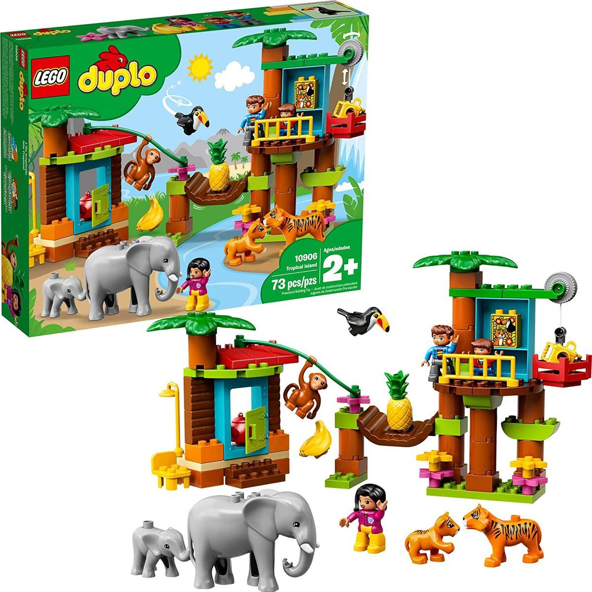 LEGO® DUPLO® Town 10906 Tropický ostrov