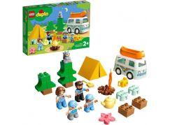LEGO® DUPLO® Town 10943 Dobrodružství v rodinném karavanu