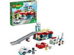LEGO® DUPLO® Town 10948 Garáž a myčka aut
