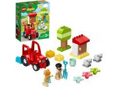 LEGO® DUPLO® Town 10950 Traktor a zvířátka z farmy