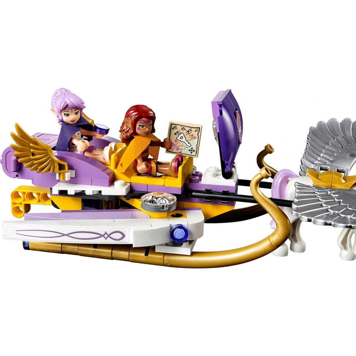 LEGO Elves 41077 Aira a saně tažené Pegasy #3