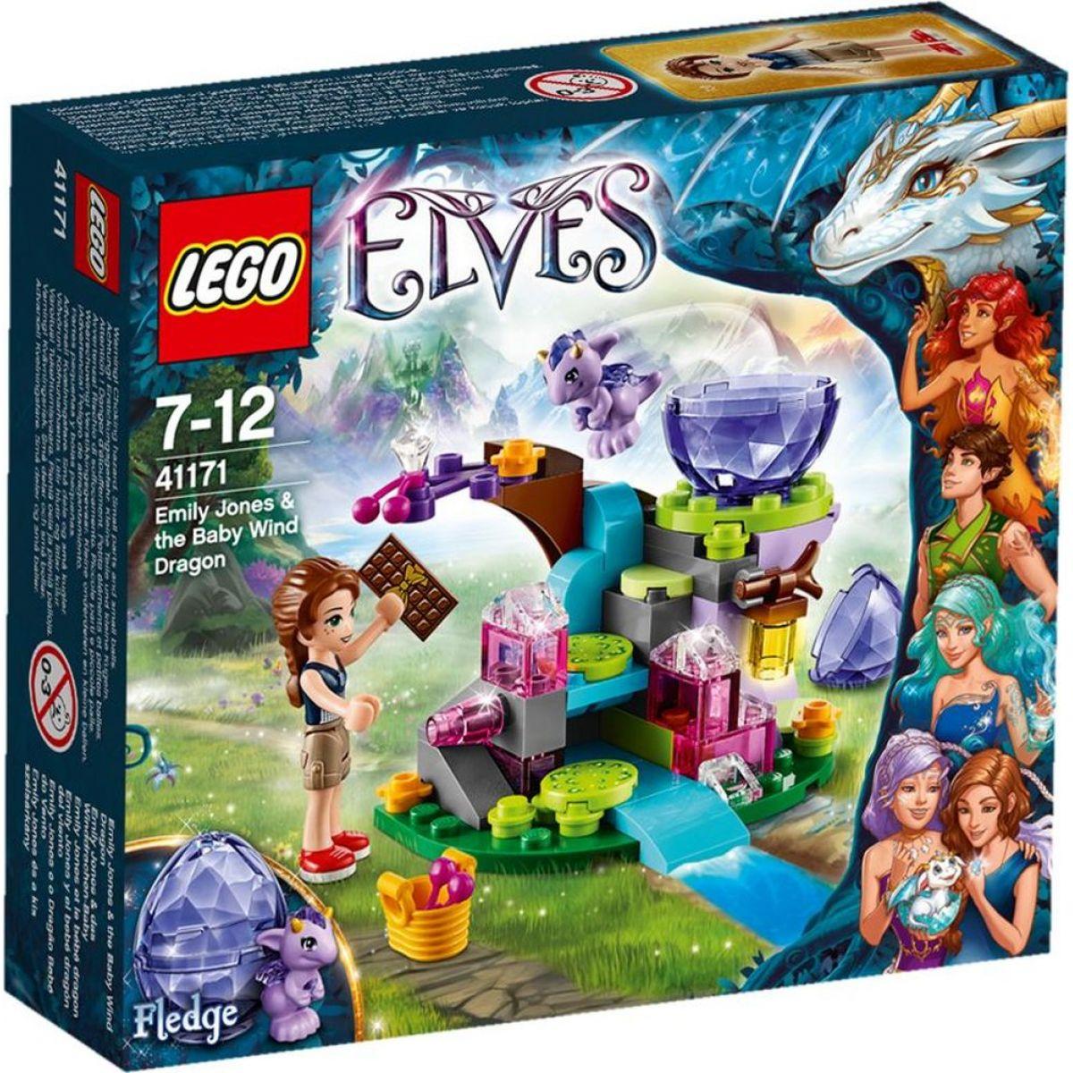 LEGO Elves 41171 Emily Jones a mládě větrného draka