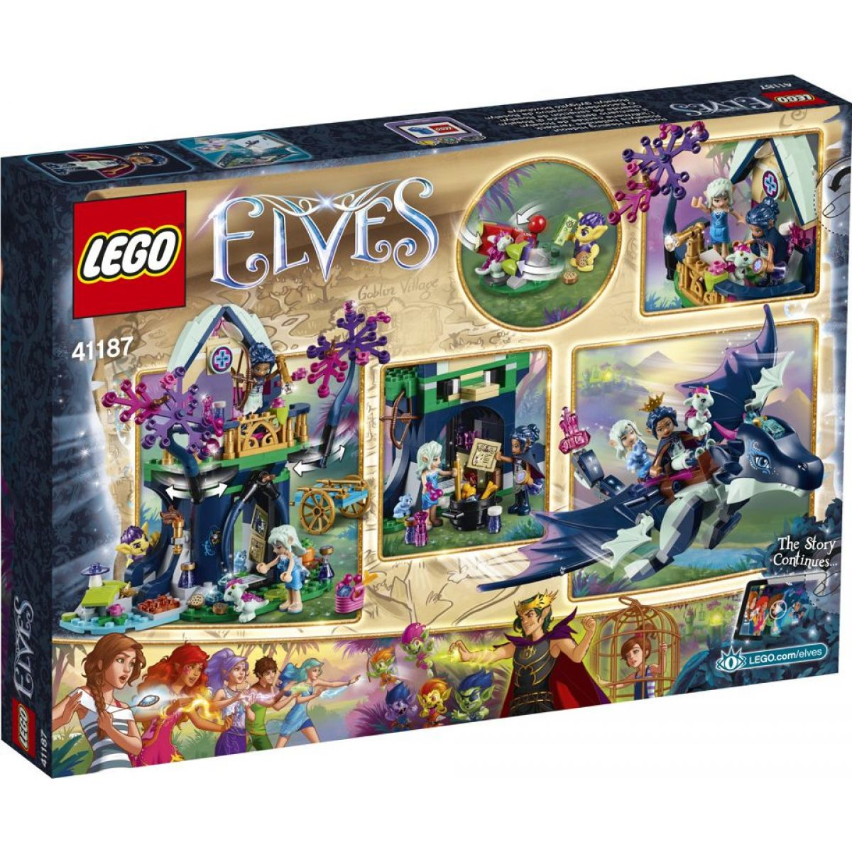 LEGO Elves 41187 Rosalyna léčivá skrýš #2