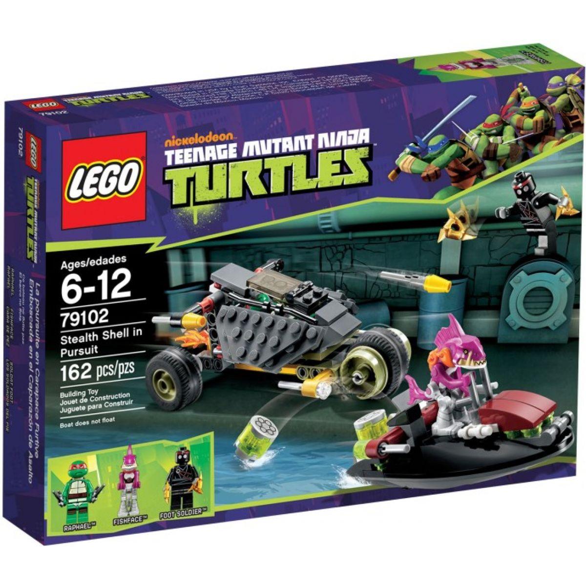 LEGO Želvy Ninja 79102 Maskované pronásledování
