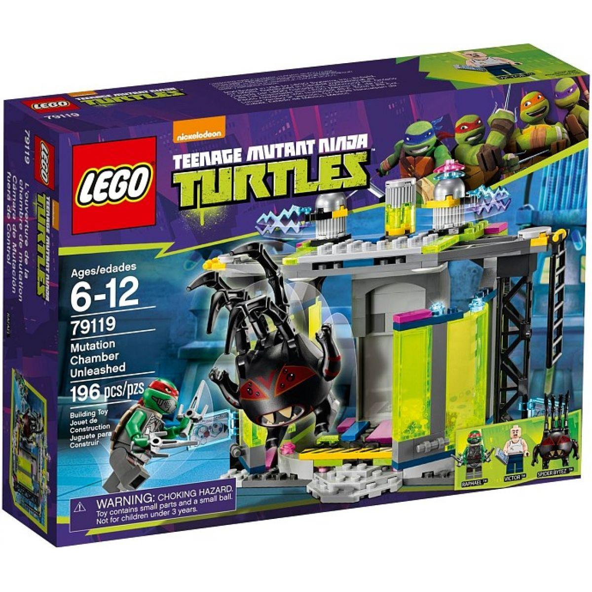 LEGO Želvy Ninja 79119 Mutační komora