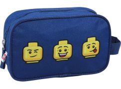 LEGO Faces Blue toaletní taška