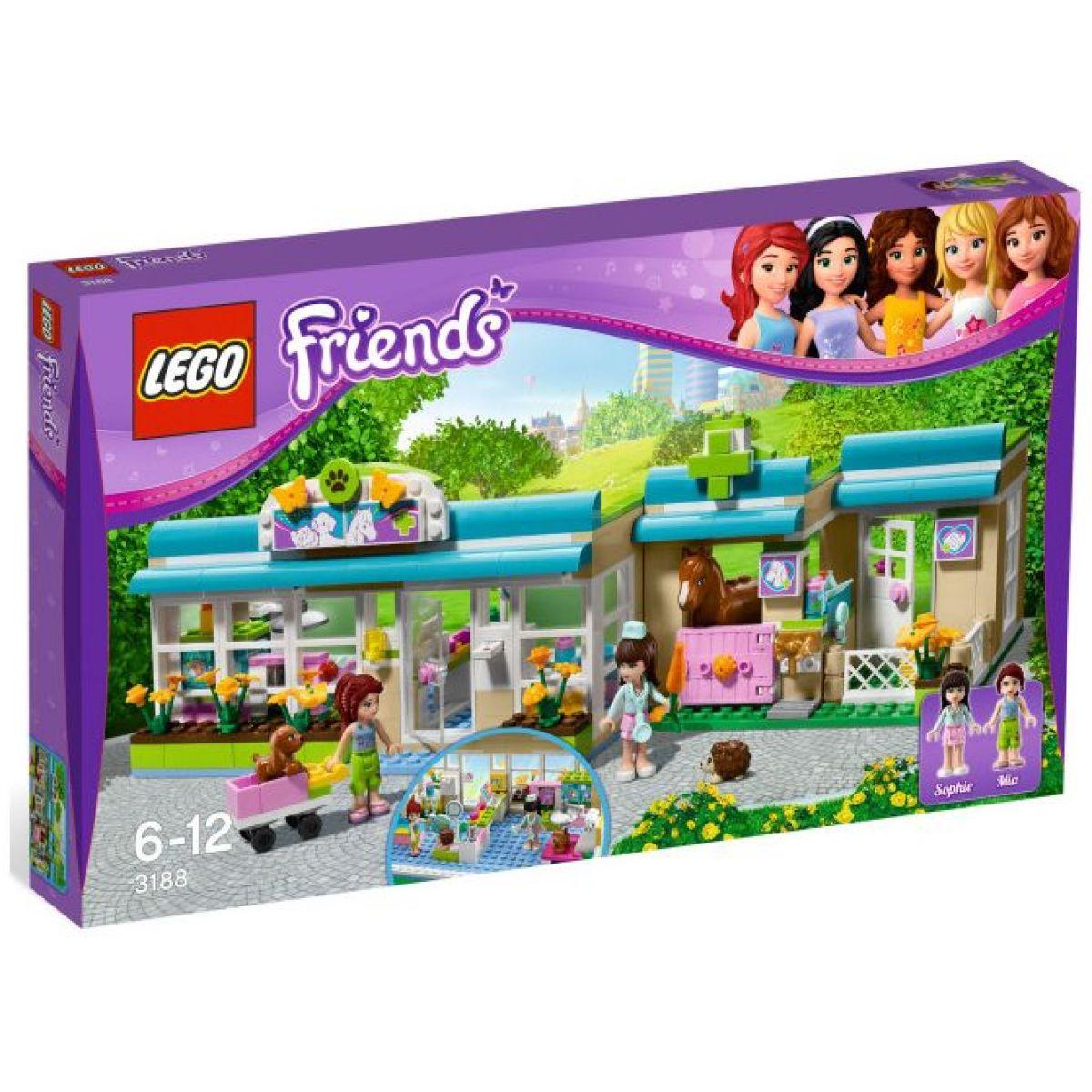 LEGO Friends 3188 Veterinární klinika v Heartlake