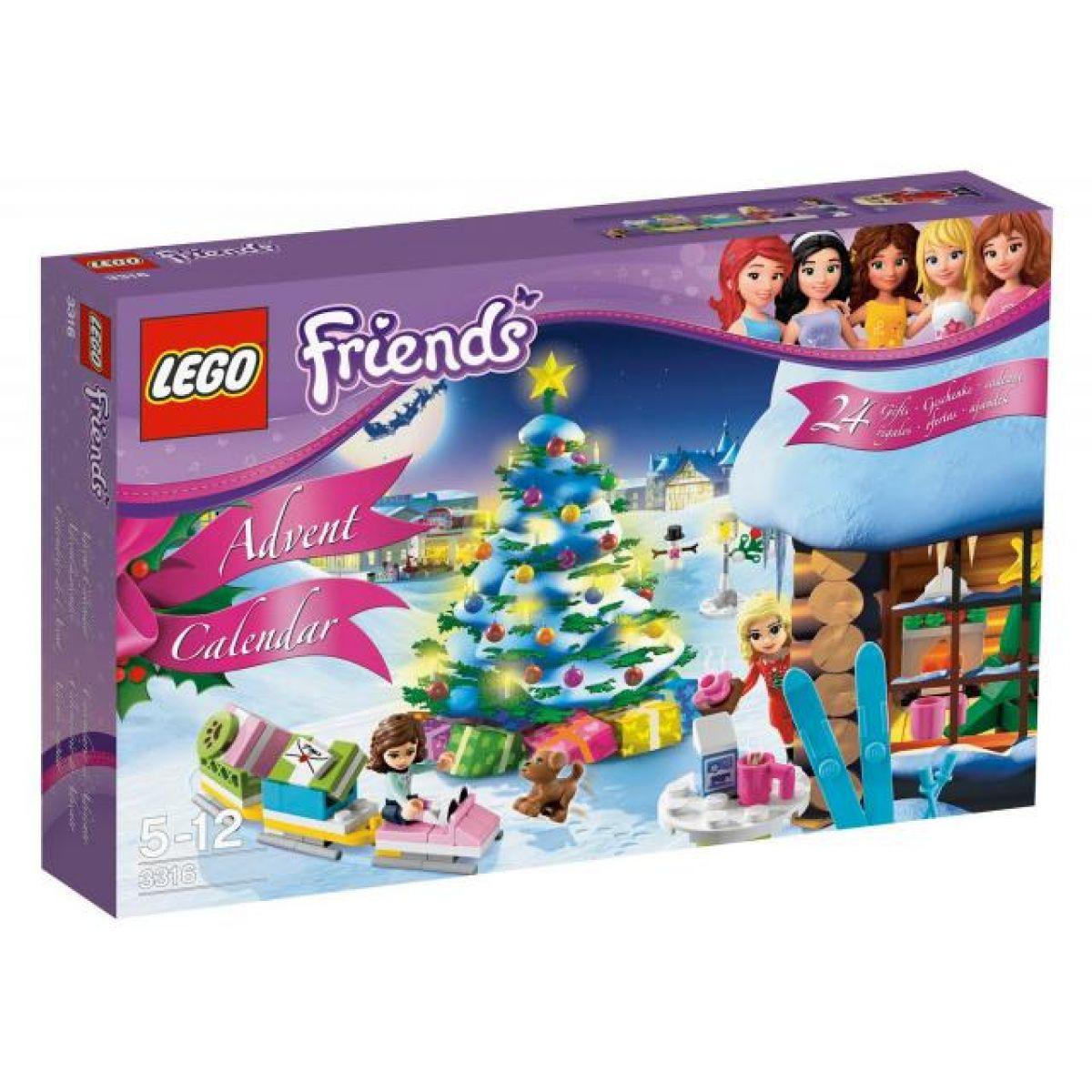 LEGO Friends 3316 Adventní kalendář