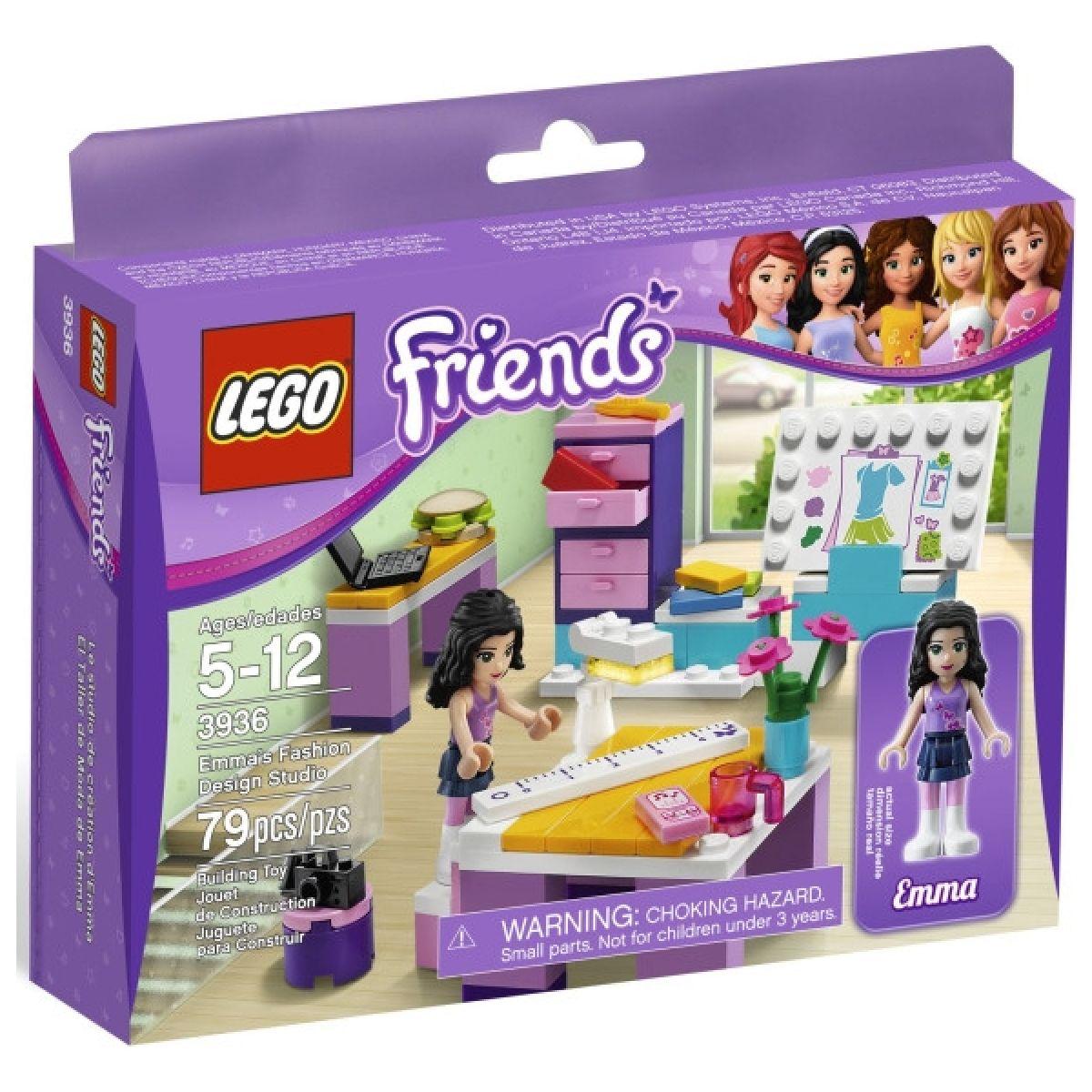 LEGO Friends 3936 Ema a její návrhářské studio