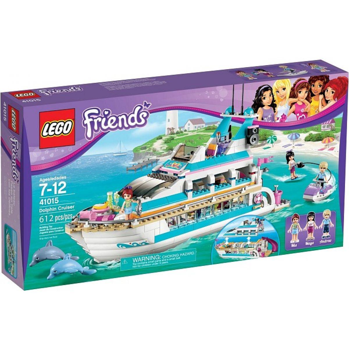 LEGO Friends 41015 Výletní loď za delfíny - Poškozený obal