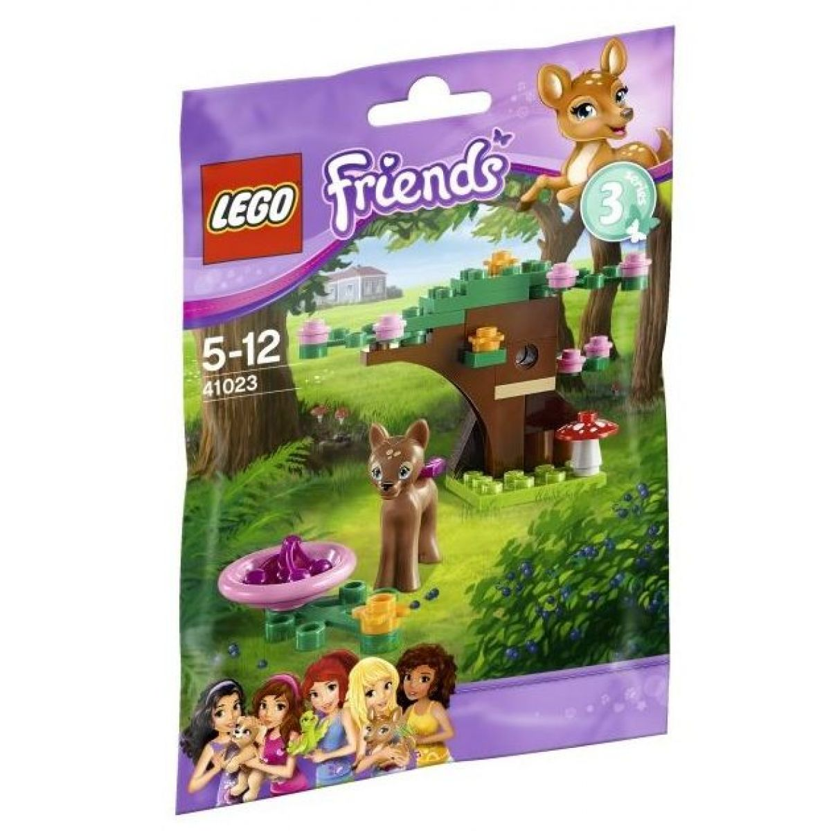 LEGO Friends 41023 Koloušek v lese