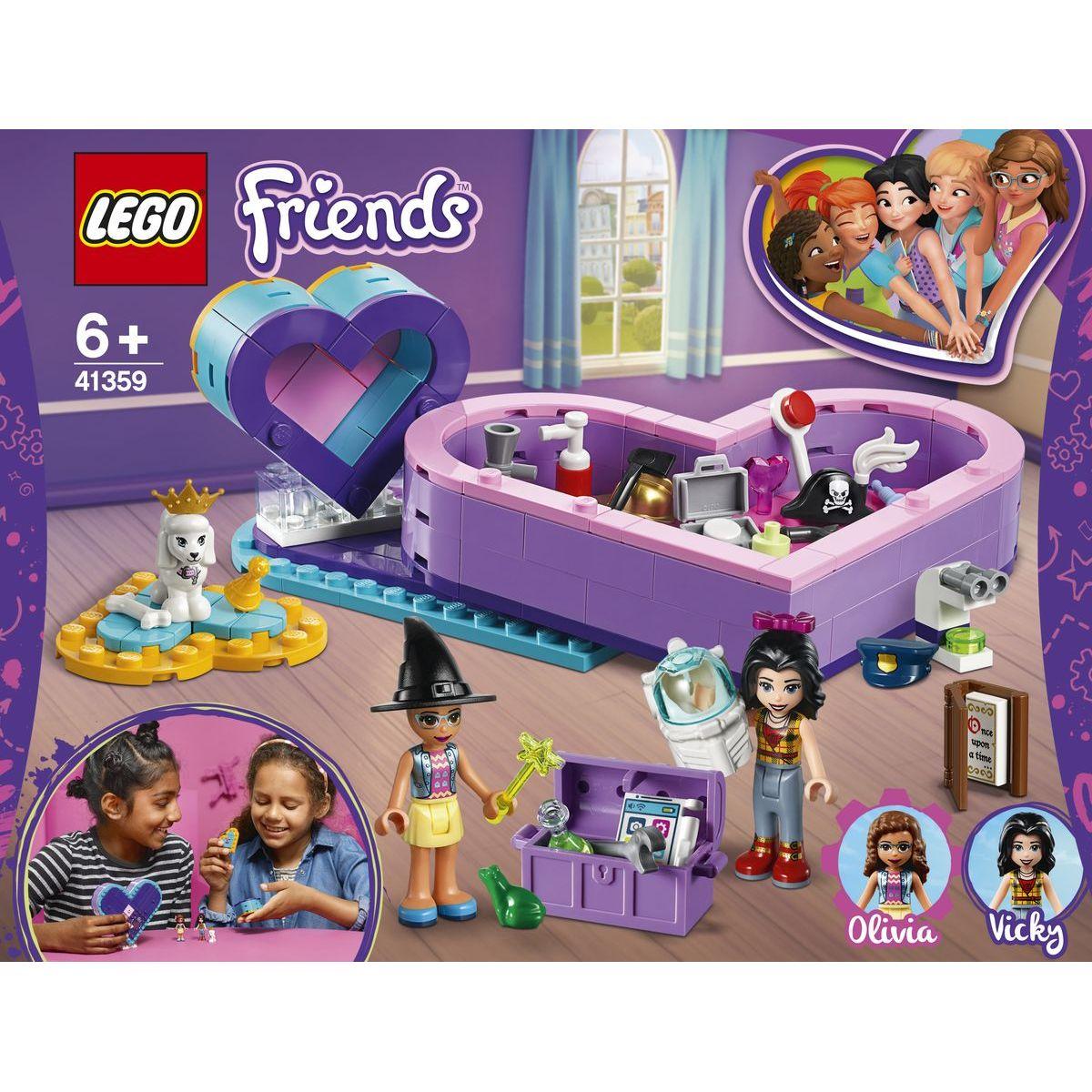 LEGO Friends 41359 Balíček srdíčkových krabiček přátelství