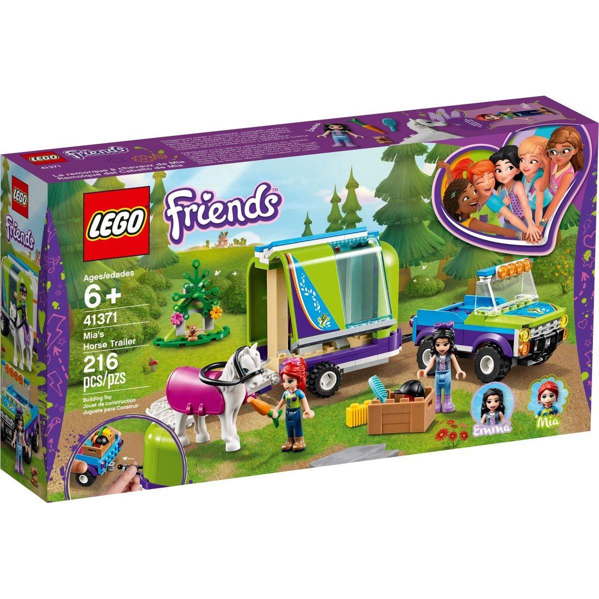 LEGO Friends 41371 Mia a přívěs pro koně