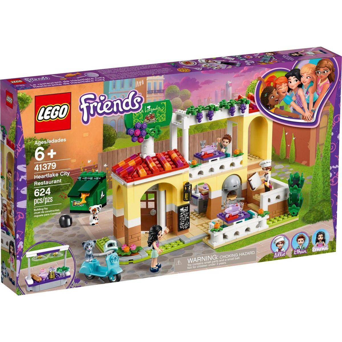 LEGO Friends 41379 Restaurace v městečku Heartlake - Poškozený obal