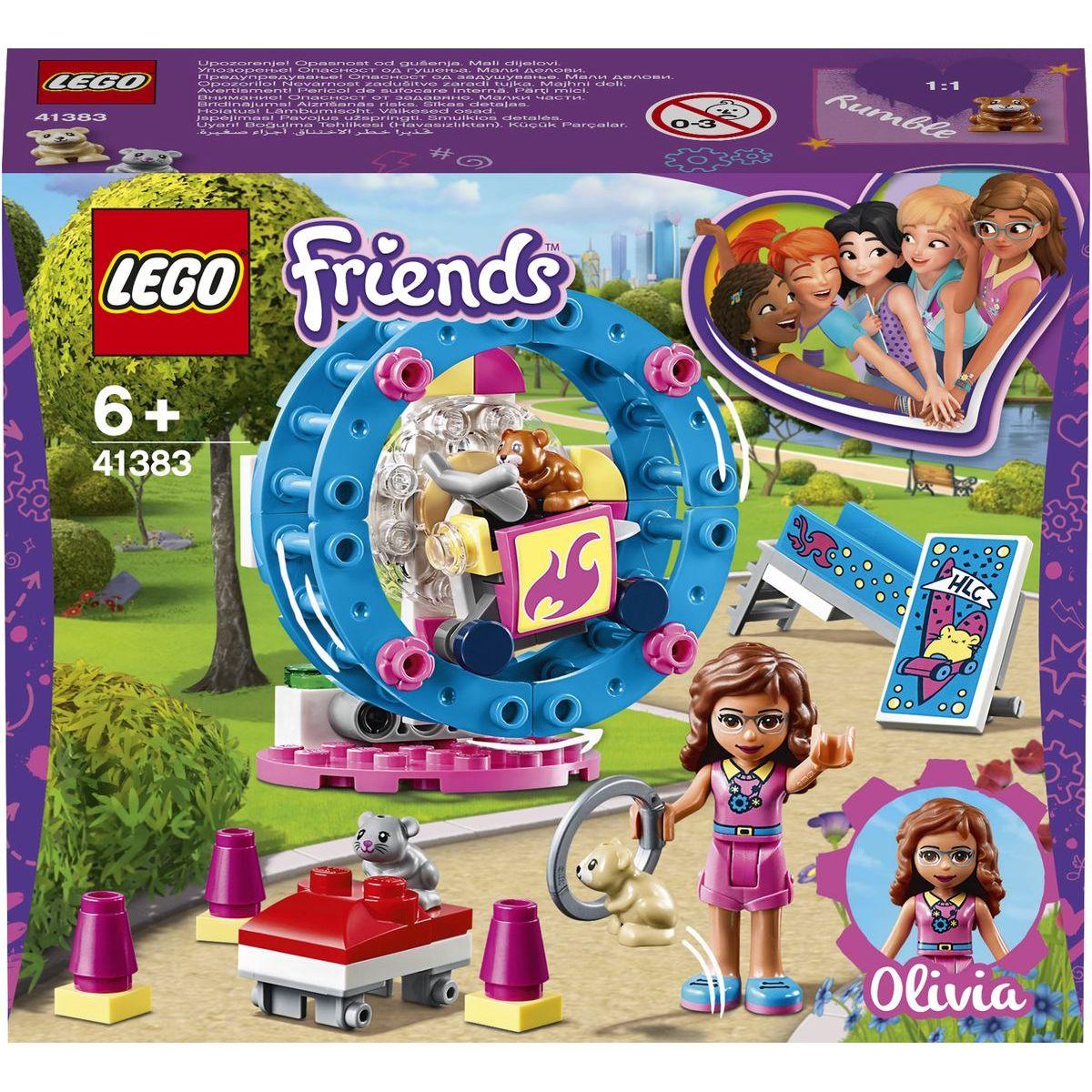LEGO Friends 41383 Hřiště pro Oliviiny křečky - Poškozený obal