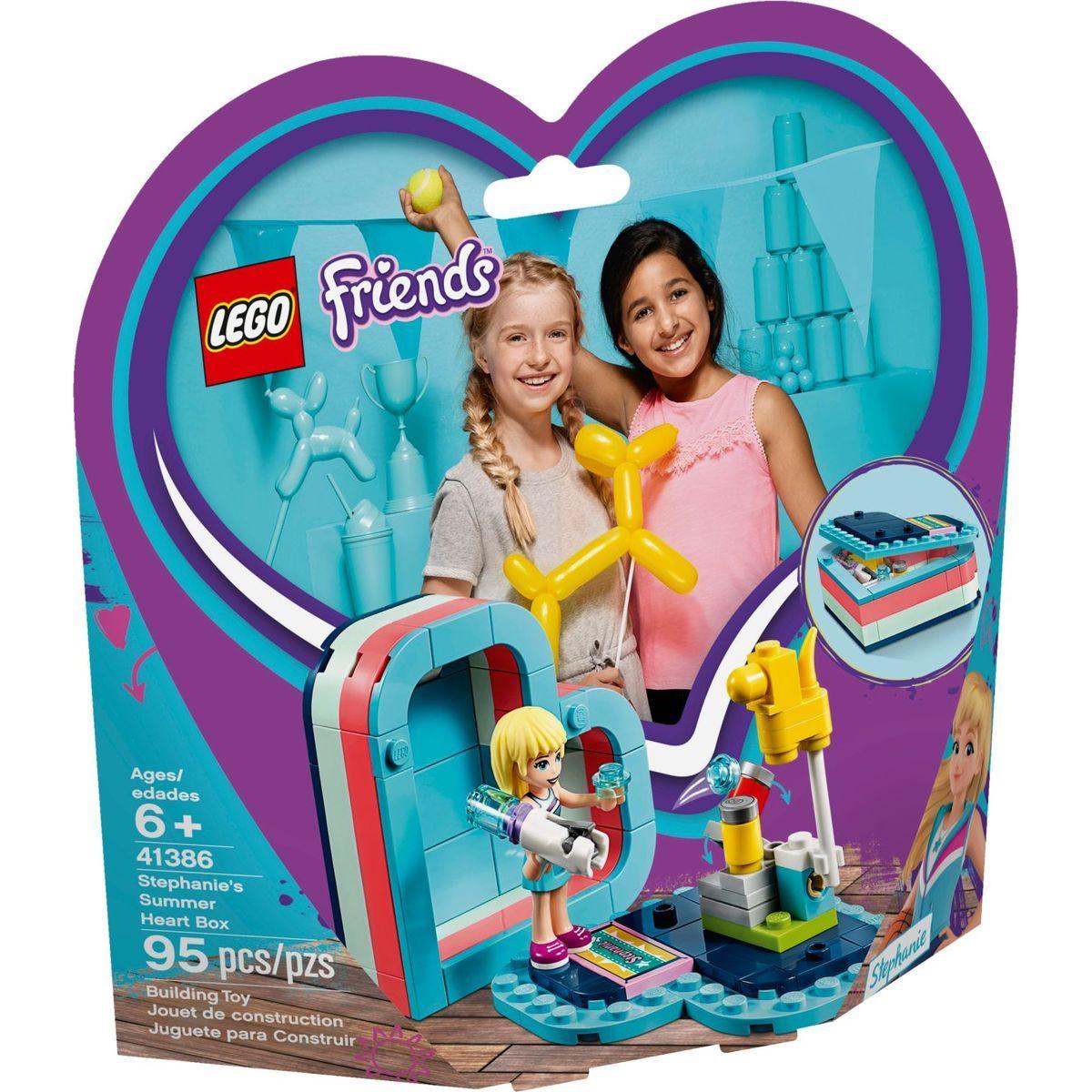 LEGO Friends 41386 Stephanie a letní srdcová krabička
