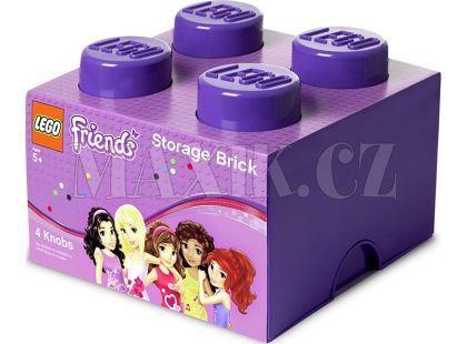 LEGO Friends úložný box 250x252x181 mm - Fialová