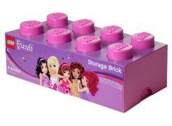 LEGO Friends úložný box 250x502x181 mm - Růžová