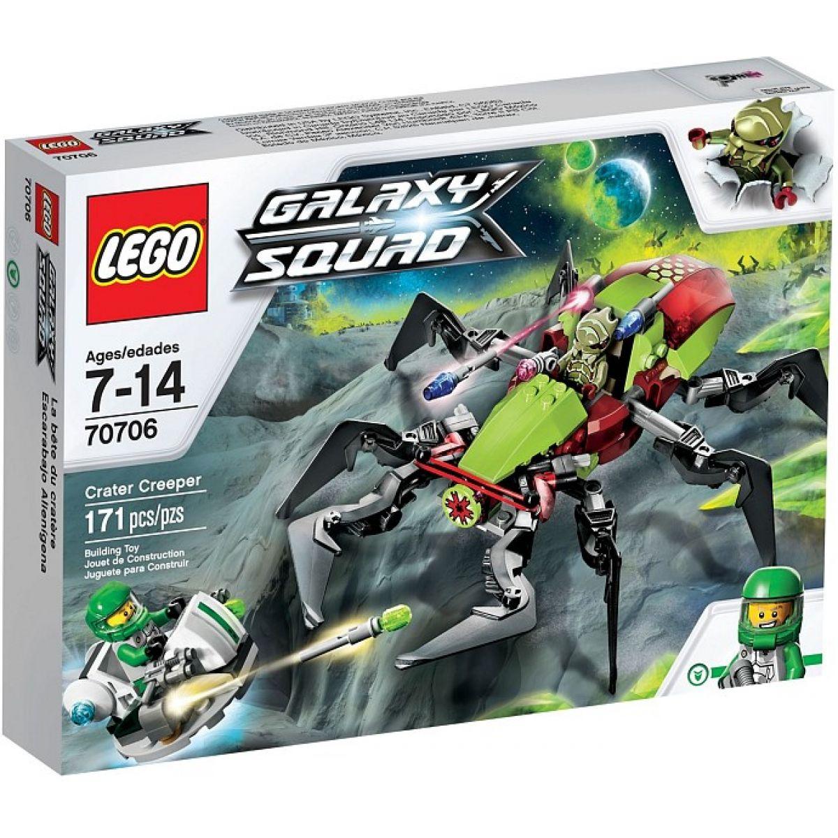 LEGO Galaxy Squad 70706 Úkryt v kráteru