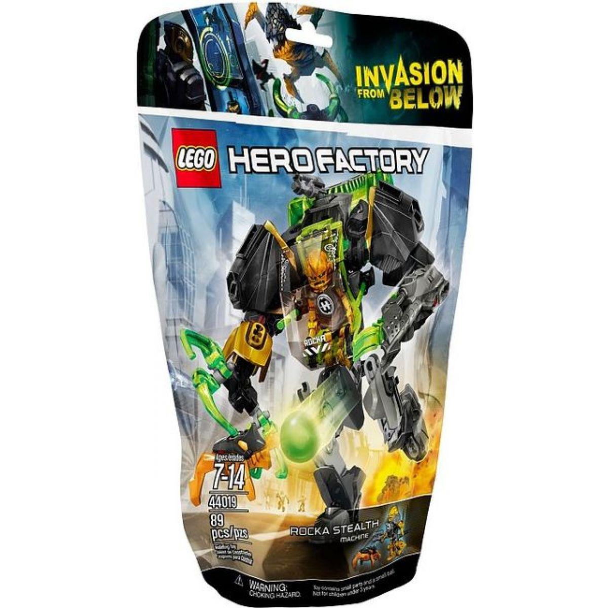 LEGO Hero Factory 44019 Rockův tajný stroj