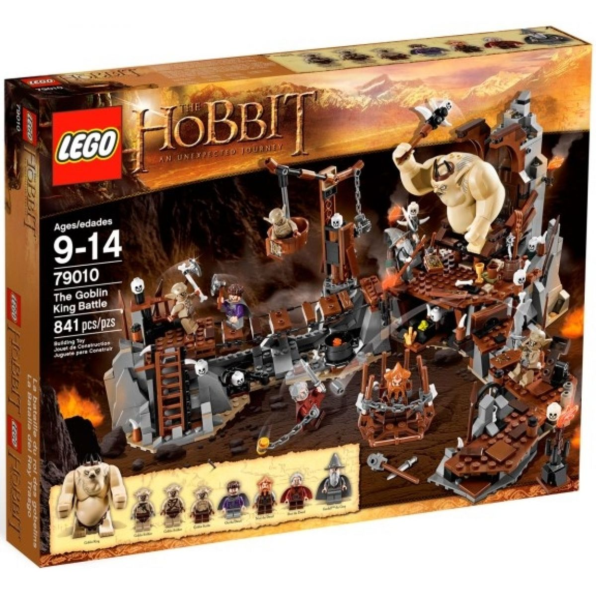 LEGO Hobit 79010 Bitva s králem skřetů