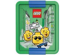 LEGO Iconic Boy box na svačinu - modrá zelená