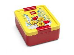 LEGO Iconic Girl box na svačinu - žlutá červená