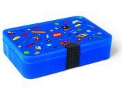 LEGO Iconic úložný box s přihrádkami modrá