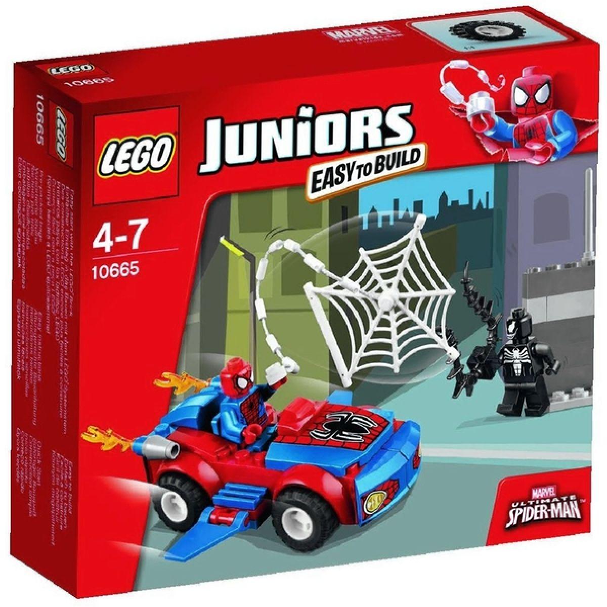 LEGO Juniors 10665 Spider-Man: Pavoučí útok