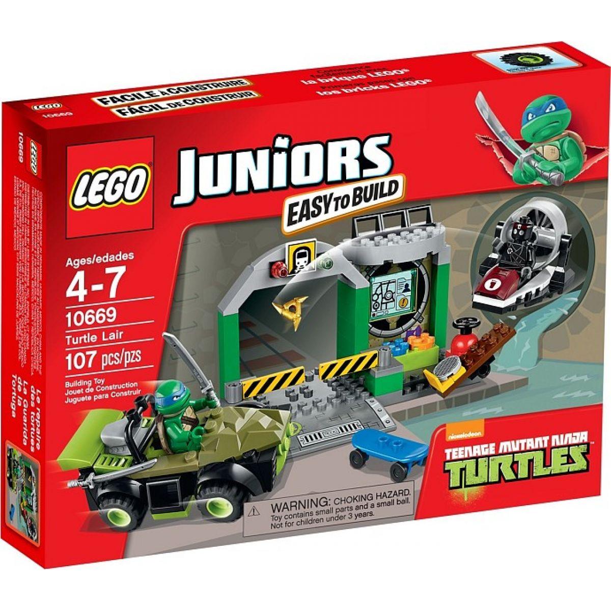 LEGO Juniors 10669 Želví doupě