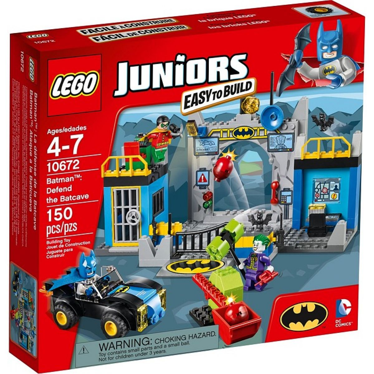 LEGO Juniors 10672 Batman Obrana Betcave