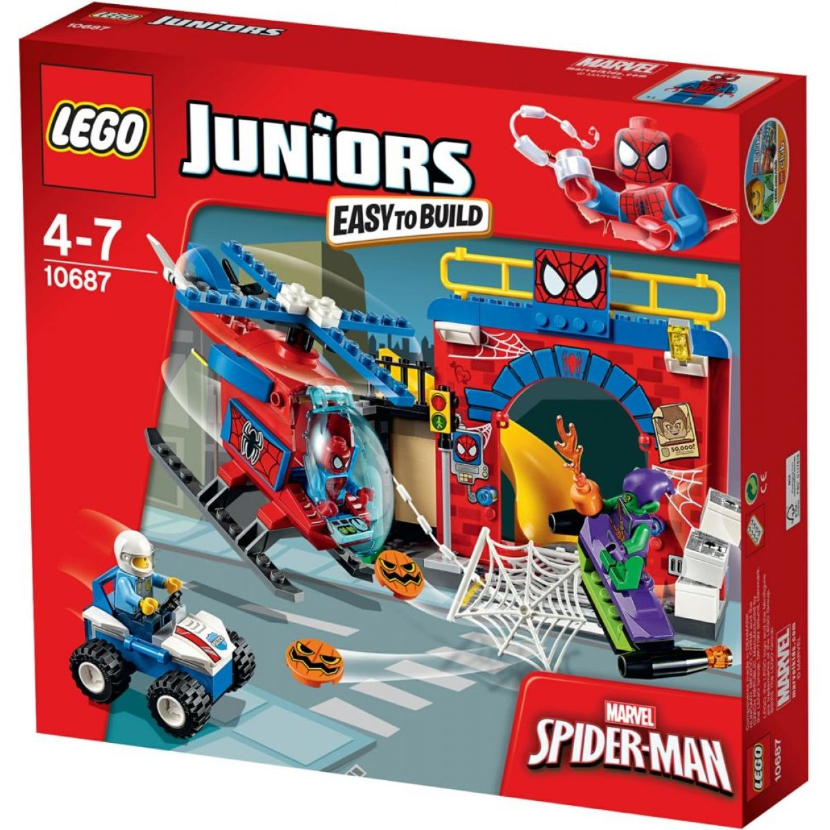 LEGO Juniors 10687 Spidermanova skrýš