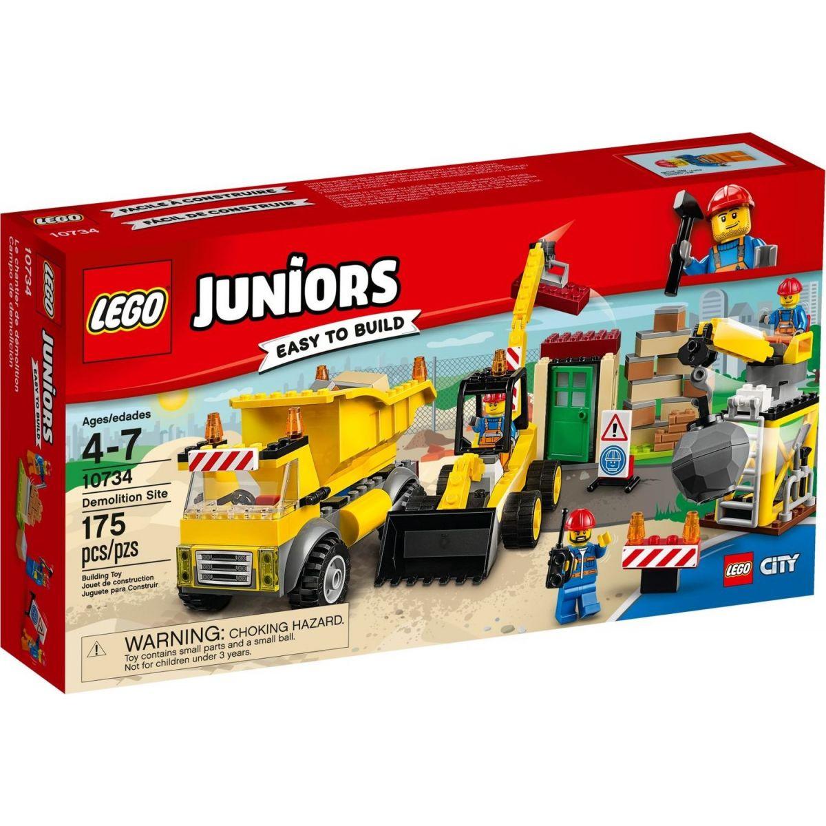 LEGO Juniors 10734 Demoliční práce na staveništi