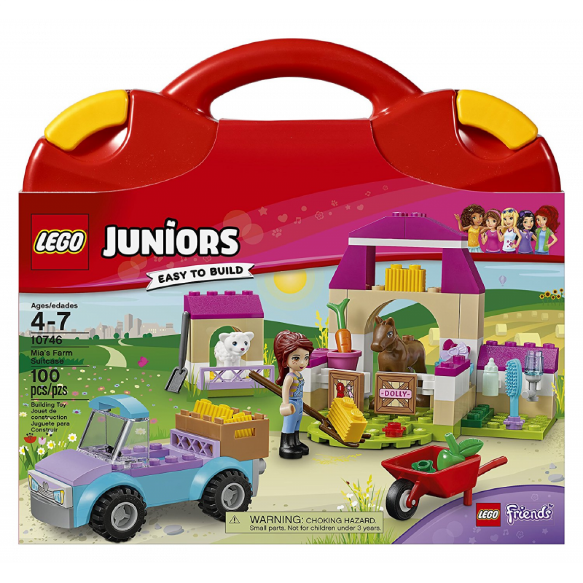 LEGO Juniors Friends 10746 Mia a kufřík na farmu