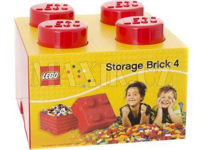LEGO Úložný box 250x252x181 mm - červený